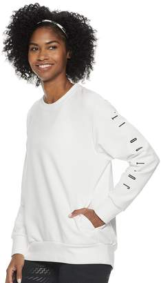 Nike Women's Dri-FIT Long-Sleeve Graphic Training Top