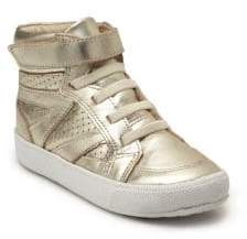 Old Soles Toddler's& Kid's Metallic Leather Star Jumper Sneakers