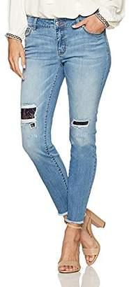 Denim Crush Lacey Patch Repair Skinny Jean 8