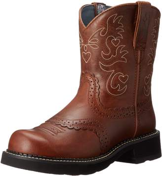 Ariat Women's Fatbaby Saddle Western Boot