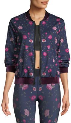 Ultracor Stealth Botanica Floral-Print Bomber Jacket