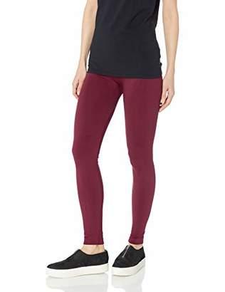 PINK ROSE Women's Solid Fleece Legging