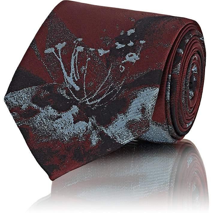 Men's Floral-Print Necktie