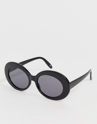 Asos DESIGN oval sunglasses