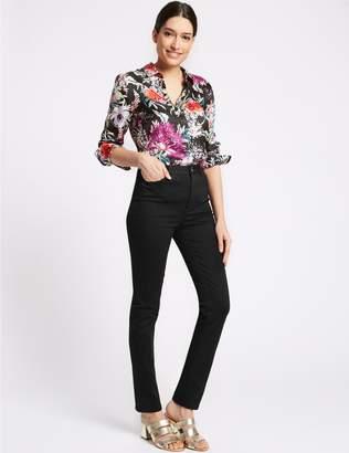 Marks and Spencer Embellished Roma Rise Slim Leg Jeans