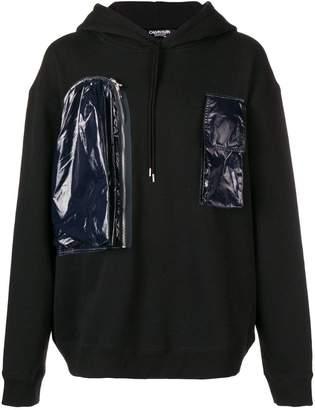 Calvin Klein patch hoodie