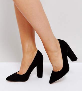 Asos DESIGN PHANTOM Wide Fit High Heels