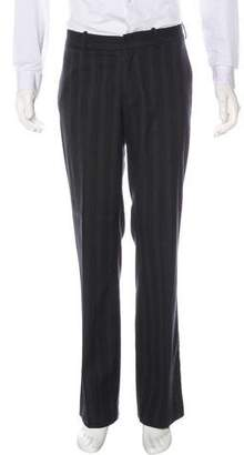 Theory Pinstripe Wool-Blend Dress Pants