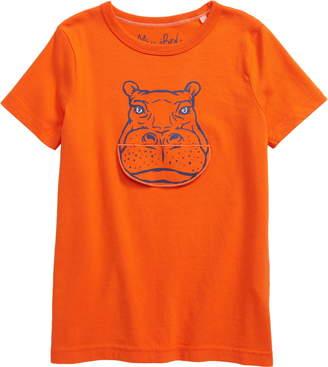 Boden Mini Sleepy Hippo T-Shirt