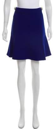 Stella McCartney Belted Mini Skirt wool Belted Mini Skirt