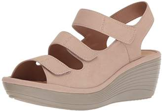 Clarks Women's Reedly Juno Wedge Sandal
