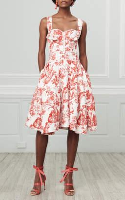 Oscar de la Renta Sweetheart Day Dress