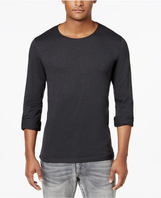INC International Concepts Men's Long-Sleeve T-Shirt, Only at Macy's $39.50 thestylecure.com