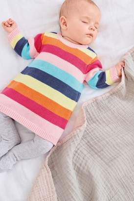 Next Girls Multi Knitted Dress (0mths-2yrs)