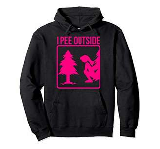 I Pee Outside Hoodie | Cute Take A Leak Out Hoodie Gift