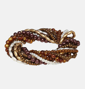 Avenue Tonal Beaded Stretch Bracelet