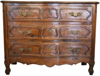 One Kings Lane Vintage 19th-C. French Walnut Serpentine Dresser