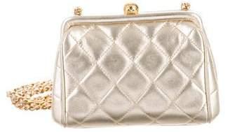 Chanel Metallic Evening Bag