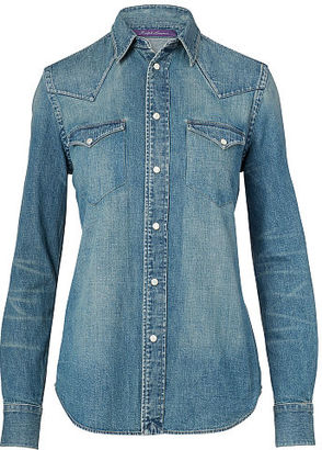 Ralph Lauren Denim Western Shirt $790 thestylecure.com