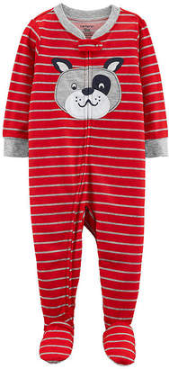 Carter's Fleece Long Sleeve One Piece Pajama - Boys