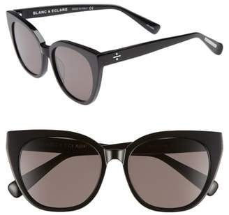 Cat Eye BLANC AND ECLARE BLANC & ECLARE Monaco 54mm Sunglasses