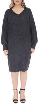 Bobeau B Collection by Curvy Janice V-Neck Shift Dress