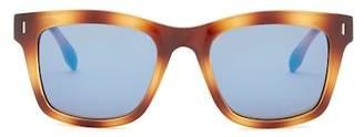 Kenneth Cole Reaction Women&s Plastic Square Sunglasses $50 thestylecure.com