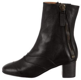 Chloé Lexie Leather Ankle Boots w/ Tags