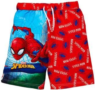 Spiderman Boys Swim Shorts