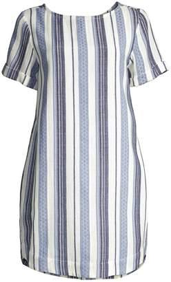 Roller Rabbit Jacquard Stripe Hinata Coverup Dress