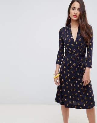 French Connection Aventine Jersey Wrap Dress