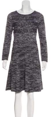 Calvin Klein Rib Knit Sweater Dress
