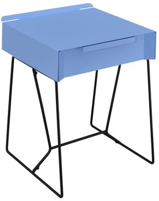 Furniture of America Herbit Contemporary Side Table, Multiple Colors