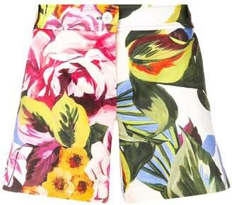Blugirl floral print shorts