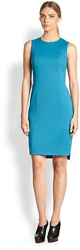Akris Punto Paneled Stretch Knit Dress