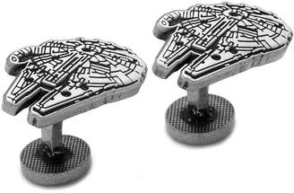 Star Wars STARWARS Millenium Falcon Etched Cuff Links