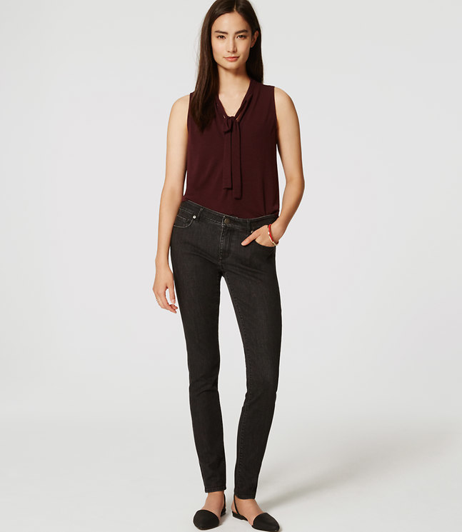 Modern Skinny Jeans in Dark Grey Wash