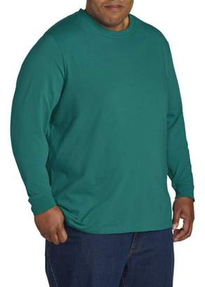 Men's Big and Tall Wicking Jersey Long Sleeve No Pocket Crew, up to size 7XL Men's Wicking Jersey Long Sleeve No Pocket Crew