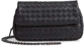 Bottega Veneta Mini Leather Messenger Bag