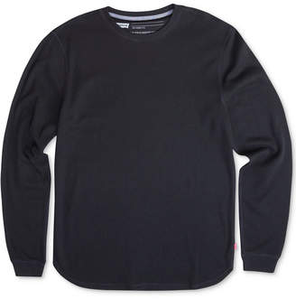 Levi's Men's Sadler Waffle-Knit Thermal Sweatshirt