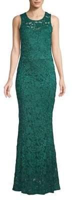 Quiz Sequin Lace Fishtail Gown
