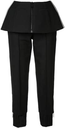 Vera Wang trousers with peplum