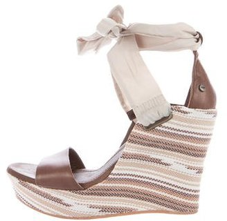 UGG Australia Jules Serape Wedge Sandals $90 thestylecure.com