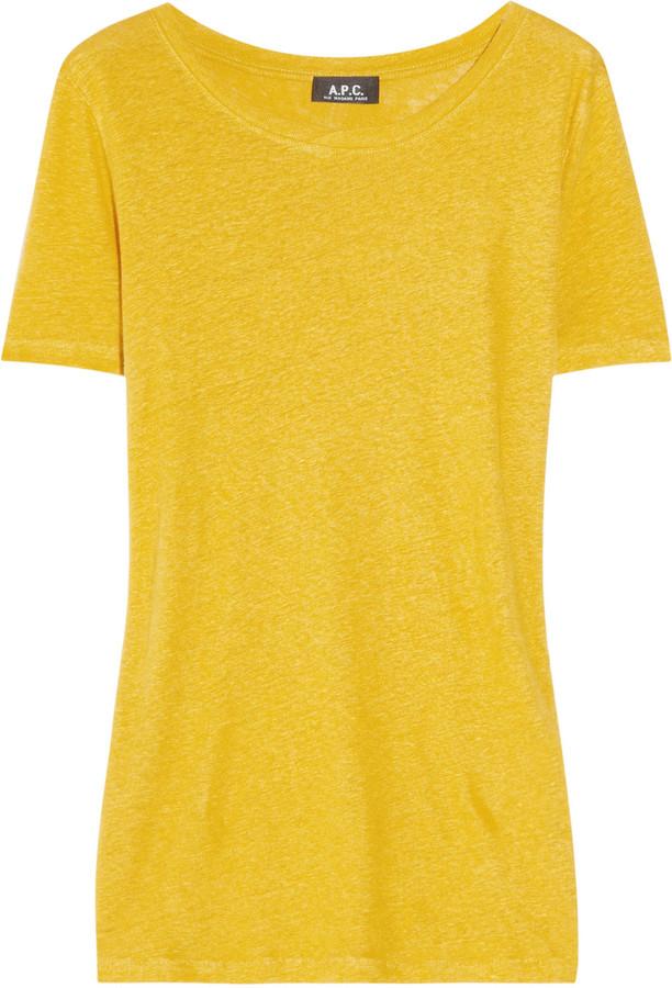A.P.C. Linen T-shirt