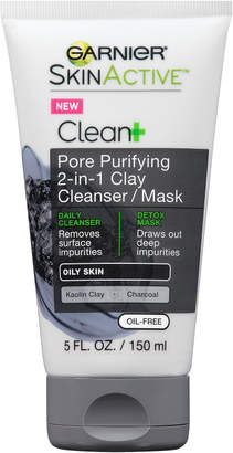 Garnier SkinActive Clean + Pore Purifying Clay Cleanser Mask $8.99 thestylecure.com