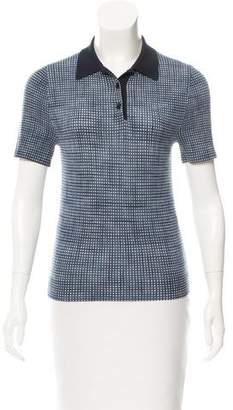 Marc Jacobs Short Sleeve Polo Top