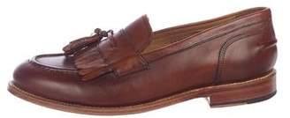 Grenson Kiltie Tassel Leather Loafers