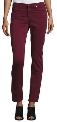 AG Prima Mid-Rise Cigarette Jeans, Wine $178 thestylecure.com