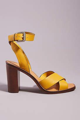 Dolce Vita Nala Calf-Hair Heeled Sandals