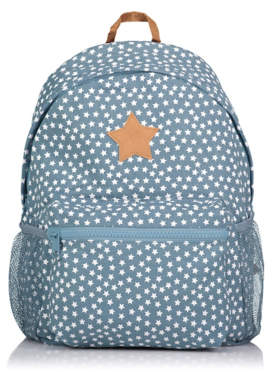 d50a7209c8 George Blue Denim Star Print Rucksack